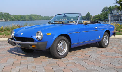 1981 Fiat Spider For